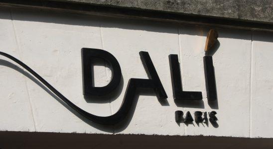 Devanture de l'Espace Dalí à Montmartre - Paris - 2018