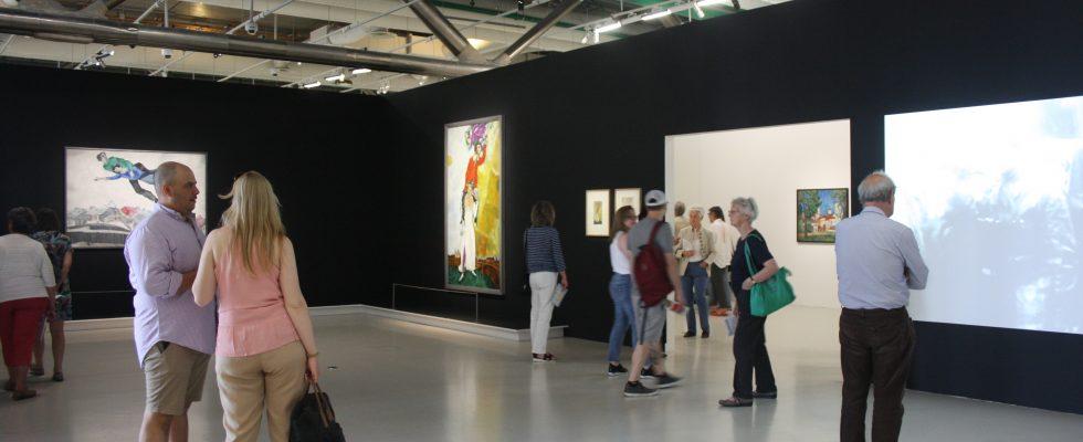 Exposition Chagall, Lissitzky, Malévitch... L'avant-garde russe (1918-1922) à Vitebsk - Centre Pompidou - Paris 2018