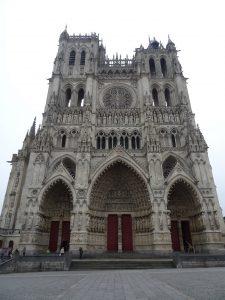 Façade - Cathédrale d'Amiens