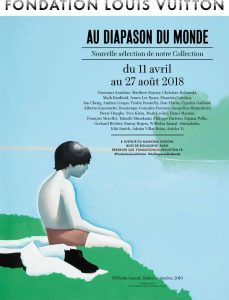 Affiche de l'exposition Au diapason du monde - Fondation Louis Vuitton - Paris 2018