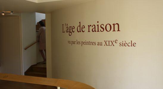 Exposition - L'âge de raison- Vu par les peintres au XIXe siècle - Musée Fournaise - Chatou 2018