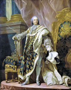 Portrait de Louis XV par Louis-Michel van Loo