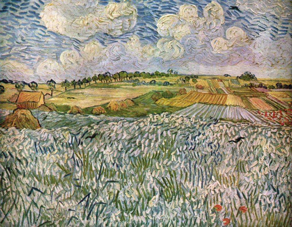 La plaine Auvers sur Oise, 1890
