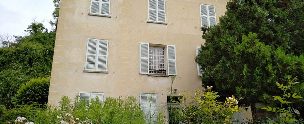 Maison du docteur Gachet, vue depuis le jardin