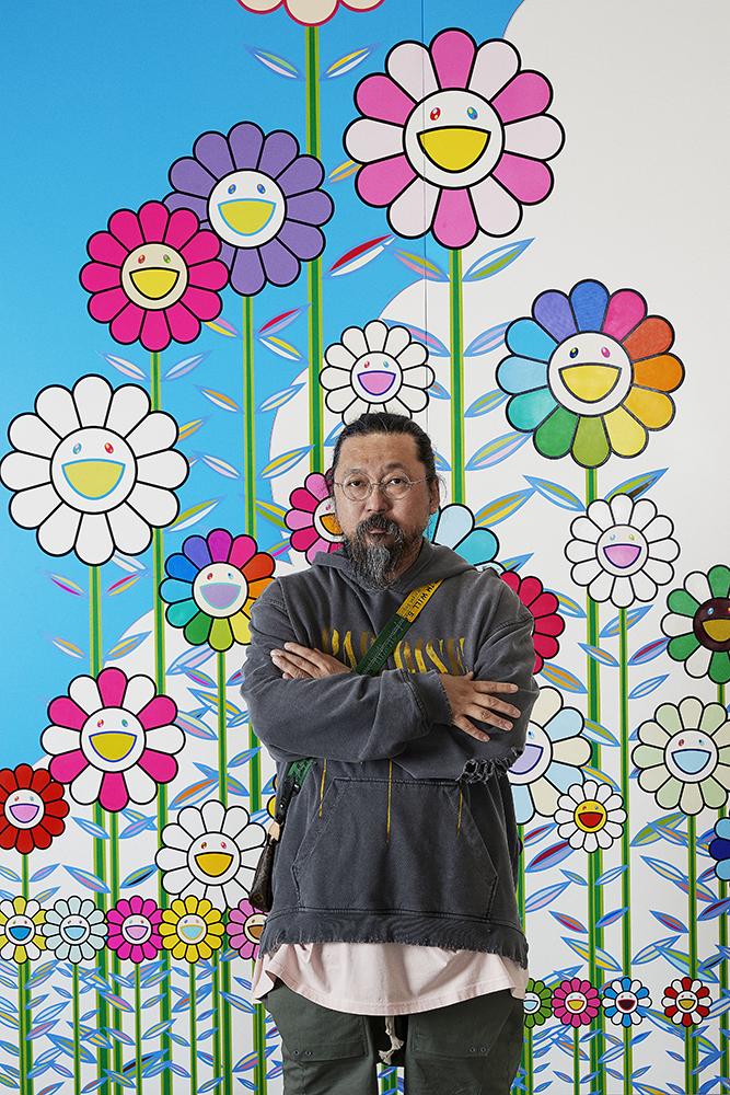 Portrait de l'artiste Murakami.
