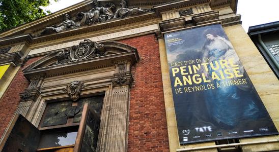 Vue extérieure du musée du Luxembourg.