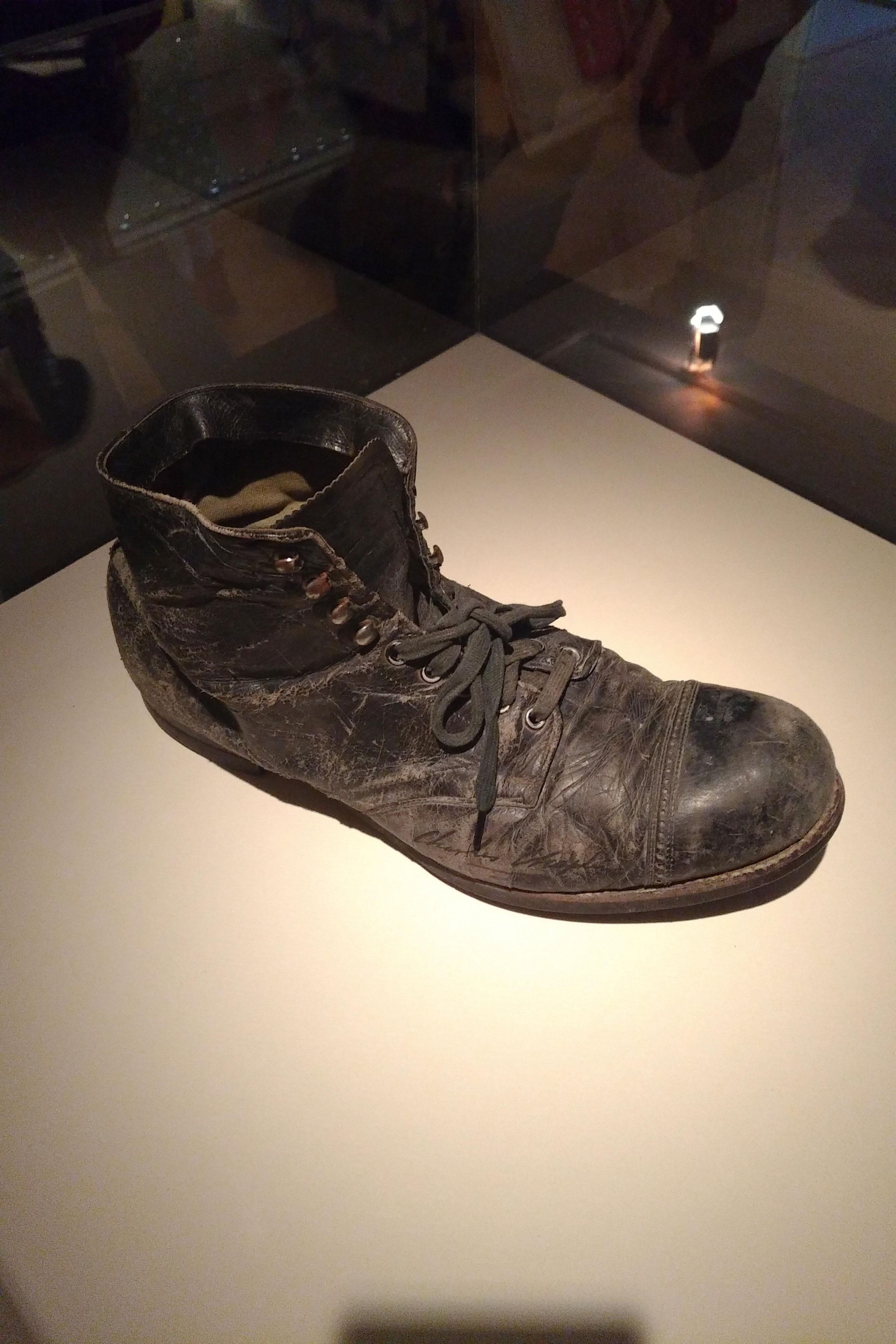 chaussure de Chaplin